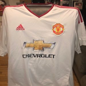 Adidas Manchester united soccer jersey size XL